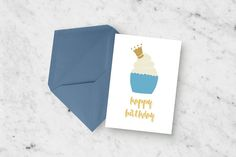 Instant Download: Happy Birthday Greeting Card by LeighwoodPaperie