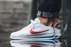 Nike Debuts the Cortez Ultra Moire in Four Colorways - EU Kicks: Sneaker Magazine Sneakers Fashion, Fashion Shoes, Mens Fashion, Tenis Casual, Casual Shoes, Nike Cortez Ultra, Nike Cortez Mens, Nike Tenis, White Sneakers