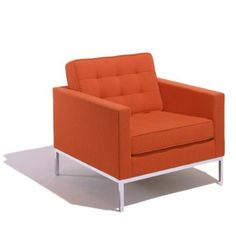 The Florence Knoll Lounge Chair is available at Smart Furniture along with the rest of the Florence Knoll Lounge Seating collection. Modern Home Furniture, Scandinavian Furniture, Lounge Furniture, Furniture Decor, Furniture Design, Smart Furniture, Classic Furniture, Chair Design, Bedroom Furniture