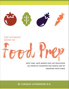 The Ultimate Guide To Food Prep Ebook