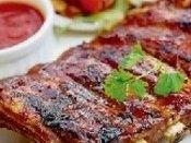 Bravčové rebrá s medovou omáčkou | Receptár Steak, Pork, Kale Stir Fry, Steaks, Beef, Pork Chops