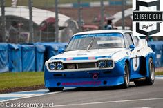 1975 Ford Capri, Chris Ward, Classic Touring Cars
