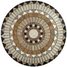 Mosaic Medallions Mosaic Stepping Stones, Pebble Mosaic, Mosaic Diy, Mosaic Garden, Mosaic Crafts, Mosaic Projects, Mosaic Glass, Mosaic Tiles, Mosaics