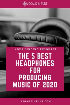 The 5 Best Headphones for Producing Music of 2020 Home Studio Equipment, Home Studio Setup, Home Studio Music, Audio Equipment, Medical Technology, Energy Technology, Best Headphones, Studio Headphones, Bad Video