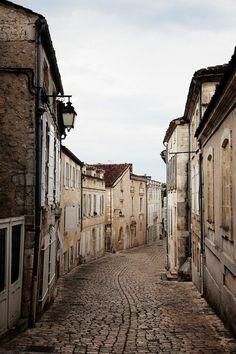 Cobble street, France