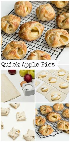 Quick Apple Pies Recipe, they may not look perfect but they taste better than perfect.