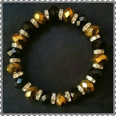 BRACELET GLAM JUST ENOUGH 4 DAY/ NIGHT N BTW YOUR STRETCHY BRACELET! FOR DAY NIGHT AND ALL IN BETWEEN Jewelry Bracelets