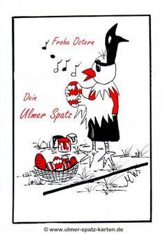 Ulmer Spatz Karten