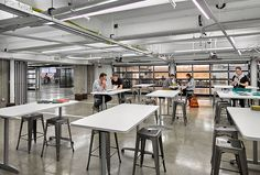 Motorola Mobility's Chicago Headquarters fuses cutting-edge technology and workplace desig...