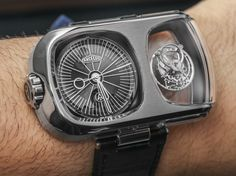 "Angelus​ U10 Tourbillon Lumiere Watch Hands-On - by Ariel Adams - see the hands-on video, photos, & learn more on aBlogtoWatch.com ""At Baselworld 2015, I got a chance to check out the first watch from the revived Angelus watch brand, as well as more about the story of how the brand came back and where it will go in the future... A hands-on look at the Angelus U10 Tourbillon Lumiere shows just how distinct and artful the Angelus brand is going to be..."" #BaselworldABTW"