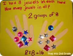 Step into 2nd Grade with Mrs. Lemons: Multiplication