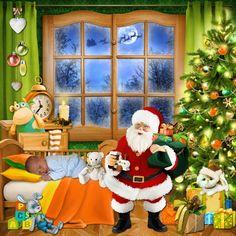 Bribri62-Scrap: Mes pages avec le Kit Un matin de Noël de Kittyscrap