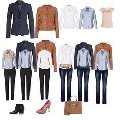 Capsule Wardrobe Teil II mit Jeans weiße Bluse