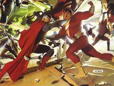 Kingdom Come: Superman Vs Captain Marvel