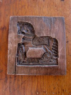 Vintage 1973 LAXA Family  Ho-Horse Mold Cookie Gingerbread 19th century design