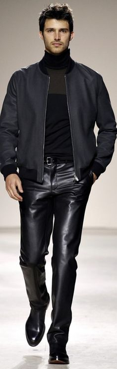 Hermès - Men Fashion Fall Winter 2013-14. Matias Chico Hernandez?