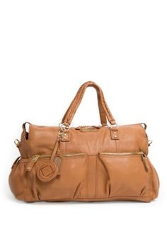 Keri Jane luxury leather changing bag and weekend bag comes with a changing mat, multiple pockets, food bag, dust bag, nappy pocket, removable liner and protective feet Kerrykit, kerikit, changing bags