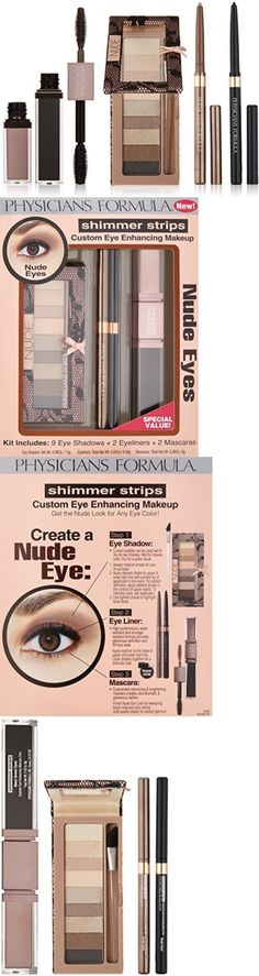 Eye Shadow Liner Combination: Physicians Formula Shimmer Strips Custom Eye Enhancing Kit, Nude - Eye Shadow: -> BUY IT NOW ONLY: $31.24 on eBay!
