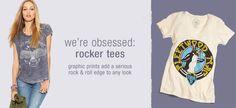we're obsessed: rocker tees