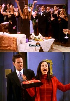 "Phoebe: ""Oh, I love drunk Monica! She's so much more fun than regular Monica!""...hahah this one was on the other night"