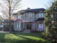 Early morning sun shinning down on these custom Iron Ore finished Windows, manufactured and installed by Custom Window Designs Morning Sun, Early Morning, Greater Toronto Area, Iron Ore, Window Replacement, Custom Windows, Window Design, Mansions, House Styles