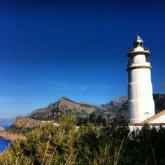 Faro des Cap Gros, Sóller #faros #turismo #mallorca