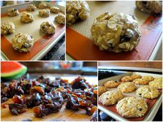 Oatmeal, walnut, and dried plum cookies! Recipe from The Kind Diet by Alicia Silverstone