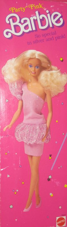 All sizes | 1989 Party Pink Barbie #7637 | Flickr - Photo Sharing!