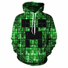 Minecraft Pullover Hoodie