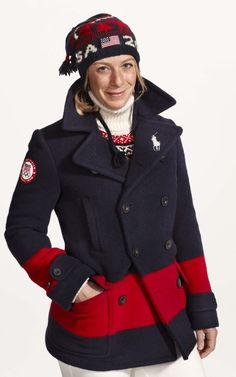 Ralph Lauren debuts 2014 Winter Olympics uniforms (which were actually made in America) Designed by Kevin and his team. Proud MOM