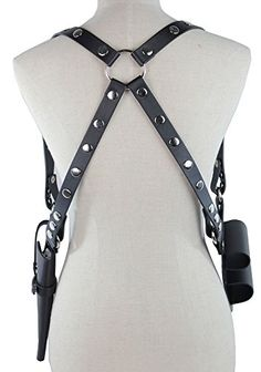 shoulder holster black leather harley quinn - Google SearchLoading that magazine is a pain! Excellent loader available for your handgun Get your Magazine speedloader today! http://www.amazon.com/shops/raeind