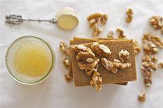 Honey walnut milk soap.