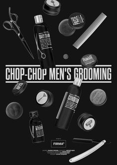 Chop-chop Men's Grooming Black Edition by Firma