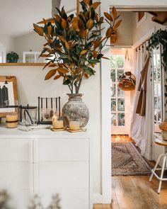 Before + After: Back Garden Sofa — The Tiny Canal Cottage Small Space Living, Small Spaces, Next Door Neighbor, Steel Beams, Garden Sofa, Side Garden, Custom Sofa, Back Gardens, Courtyard Gardens