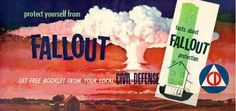 1958 Bus Poster : : Civil Defense Museum Art Gallery - Page 1 Cold War Propaganda, Museum Art Gallery, Nuclear War, Emergency Management, Atomic Age, Science Fiction Art, World War One, Retro Futurism, Fallout