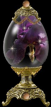 Les oeufs de Pâques et les oeufs de Fabergé