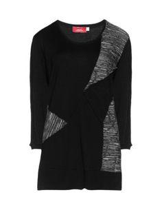 Kimonoshirt mit Materialmix in Schwarz / Grau designed von Peter Luft in der Kategorie Shirts bei navabi.de