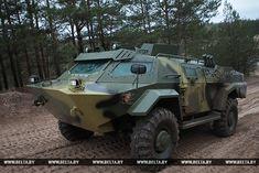 Белорусская бронированная разведывательно-дозорная машина «Кайман» поступит на вооружение - bmpd