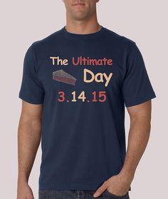 2d63b526 Ultimate Pi Day TShirt Math Humor Pie 3.14.15 Food Gift National Mens  Ladies Tee Cool T-Shirt Funny Tshirt