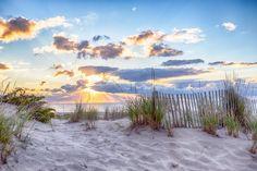 16 x 20 Beach Sunrise Print