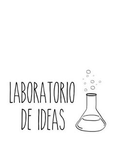 """Sticker mural """"Laboratorio de Ideas"""" noir et transparent 60 x 40 cm Laboratorio de ideas - Really Nice Things Cool Vintage, Open Space Office, Motivation Wall, Silhouette Curio, Art Deco Home, Notebook Covers, Home Schooling, Wall Design, Really Cool Stuff"""