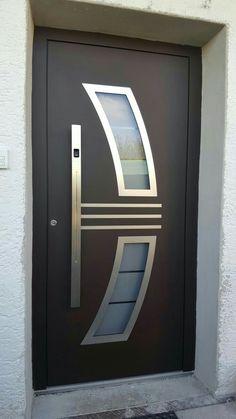 all type door design House Front Wall Design, Wooden Front Door Design, Home Door Design, House Gate Design, Door Design Interior, Wooden Doors, Modern Entrance Door, Modern Exterior Doors, Modern Door