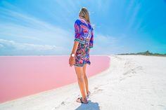 Playa del Carmen travel guide - Things to do in Playa del Carmen - Las coloradas Pink Lake Mexico