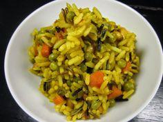 Außerdem kochte ich ein neues Kochbuch Probe und aß daher eine leckere, schnelle Reispfanne.