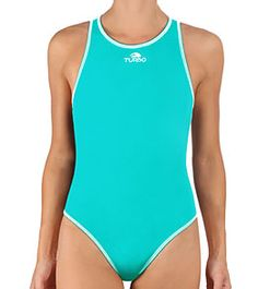 Turbo Women's Comfort Water Polo Suit #swimoutlet
