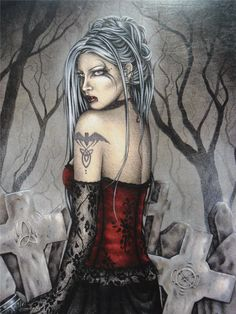 Vintage Fantasy Art by Jessica Galbreth