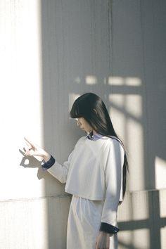 Area: Harajuku, Tokyo | 原宿, 東京 Name: Yuri Yoshida | 吉田 友理 Top: ЯPKO | ルプコ Shirt: ЯPKO | ルプコ Trousers: ЯPKO | ルプコ Hair Salon: PEEK-A-BOO | ピークアブー