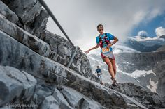 Gore-tex Transalpine Run 2013, Serafini Silvia and Korthazar Aranzeta Oihana from Team Salomon International III.