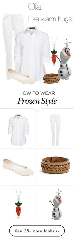 """""""Olaf"""" by hestiarocks on Polyvore featuring WearAll, Steffen Schraut, Wet Seal and Frye"""