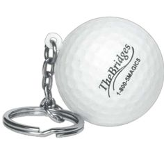 """Sports Ball Stress Reliever Key Chain - This sports ball shaped stress reliever with key chain is a great way to relieve stress on the go! Makes a fun giveaway item and a great fundraiser item! Size: 1 1/2"""" diameter. Safety tested and intended for adults or for general use by consumers of all ages. Our products are not intended for children under three years old or for pets. #propelpromo"""